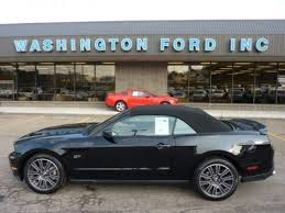 Black Mustang Gt Convertible For Sale Used 2010 Ford Mustang Gt Premium Convertible For Sale Stock