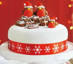 Simple Christmas Cake Decorations Ideas by How To Make A Robin Cake Topper With Ready To Roll Icing Rockin
