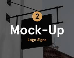 restaurant u0026 coffee signs mock up on behance