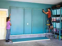 best place to buy garage cabinets how to build oversized garage storage cabinets hgtv