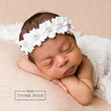 headband newborn best 25 baptism headband ideas on christening