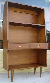 Mid Century Modern Bookcase Broyhill Brasilia Mid Century Modern Bookcase