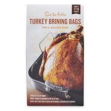 turkey brining bag turkey brining bags 19245 set of 2 sur la table turkey brining