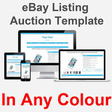 ebay auction listing template https responsive mobile friendly