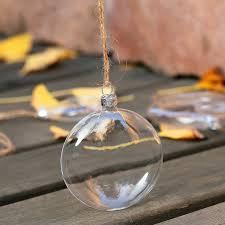 aliexpress buy clear glass disc balls wedding bauble