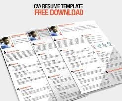 Infographic Resume Template Free Download 59 Free Professional Cv Resume Templates Psd Graphiceat