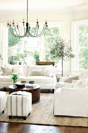 elegant living room with white sofa with white living room room