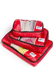 Oraganizing by Packing Cubes Travel Cubes Zippered Includes 3 Sizes Fishers Finery