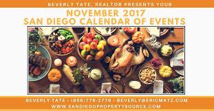 san diego calendar of events for november 2017 your san diego