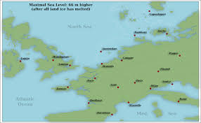 Amsterdam Map Europe by Higher Sea Level In Europe By Arminius1871 On Deviantart