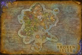 Wow Kalimdor Map I U0027ve Stitched Together The Broken Isles Please Offer Suggestions