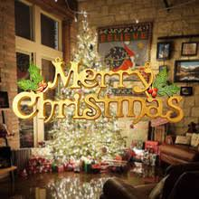 Letter Decorations For Christmas Tree by Merry Christmas Letter Promotion Shop For Promotional Merry