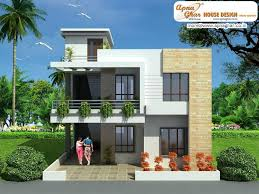 duplex floor house design link apnaghar building plans online