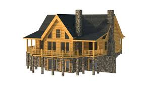 greenville rear elevation southland log homes like the floor
