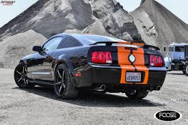 2001 Shelby Mustang 2009 Ford Mustang Gt Foose Enforcer F154 Wheels Gloss Black W