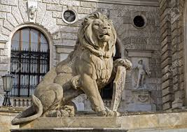 lion statue vienna lion statue stock photo picture and royalty free image
