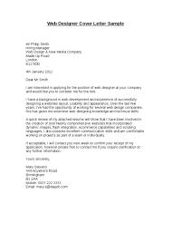 media designer cover letter