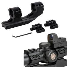 top scope rings images Tactical 1 inch cantilever dual flat top rings rifle scope mount JPG
