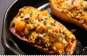 comment cuisiner le quinoa recettes butternut farcie au quinoa une recette facile originale jaime