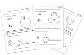 alphabet writing worksheets for esl kindergarten