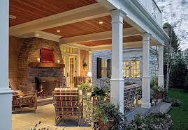 covered back porch ideas homeca