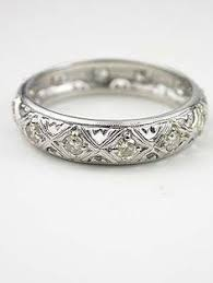 filigree wedding band antique wedding bands deco antique diamond engagement ring