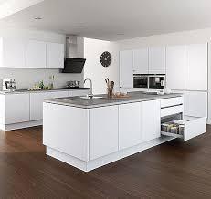modele cuisine design modele de cuisine blanche 14 cuisine get green