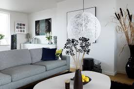 Extraordinary Spacious Living Room Luxury Grey And White Room - White and grey living room design