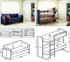 Bunk Bed Sofa Bed Into Bunk Bed At Home And Interior Design Ideas