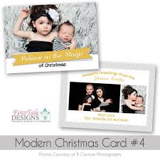 modern christmas card photo template for photographers fototale