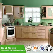Solid Teak Wood Kitchen Cabinet Unit China Kitchen Cabinet Factory - Chinese kitchen cabinet manufacturers