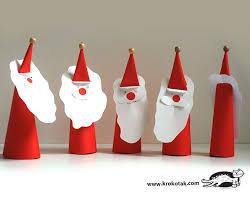 How To Make A Origami Santa - krokotak paper santa claus