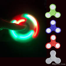 newest 2017 toy newest led fidget spinners horse race lamp hand