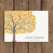 fall wedding guest book shop fall wedding guest books on wanelo