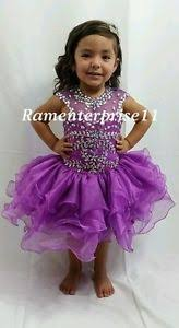 glitz pageant dresses size 4t organza magenta glitz pageant dress for sale ebay