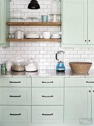 Light Kitchen Cabinets Benjamin Tea Light Painted Kitchen Cabinets Interiors By Color