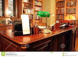 Home Office Bookshelves by Home Office And Bookshelves Stock Images Image 3763554