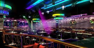 colorful interior dark colorful interior restaurant club hall 259 3d model max fbx