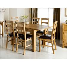 Wiltshire Oak Dining Set Pc Dining Room Furniture BM - Dining room chairs oak