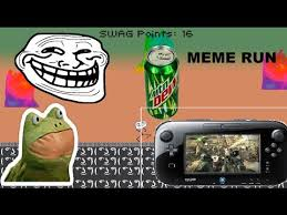 Wii U Meme - what is this game meme run wii u youtube