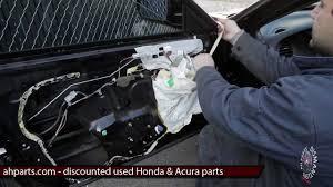 how to fix install replace window regulator motor diy 99 00 01 02