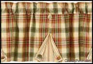 Country Style Curtains And Valances Country Curtains Country Porch