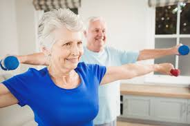 Armchair Aerobics For Elderly Seniors Can Benefit From Physical Activity Agingcare Com
