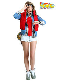 marty mcfly costume women s marty mcfly costume