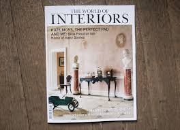 styling bella freud home for world of interiors nicholas hughes