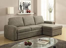 Sectional Sofa With Storage Acme 51645 Derwyn Light Brown Linen Fabric Sectional Sofa With