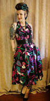 coffin kitsch of the day the 80s tropical dress