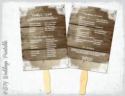wedding fan program template template wedding fan programs template zoom program templates