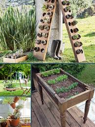Garden Ideas For Small Spaces Roundup 10 More Even Smaller Space Container Garden Ideas Curbly