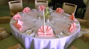 How To Set A Table Properly by Setting Banquet Tables Training Youtube